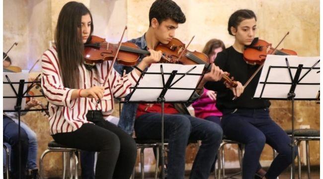 Şanlıurfa Büyükşehir'in müzik kurslarına yoğun ilgi