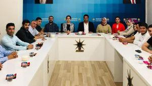 Vekil Açanal'dan AK Parti Karaköprü'ye Ziyaret