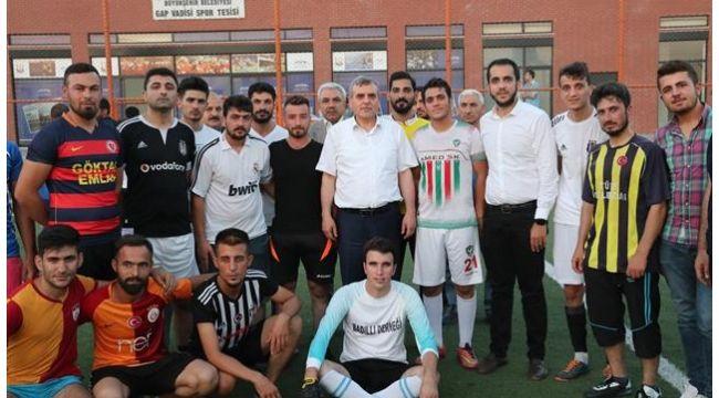18-35 Yaş Arası Futbol Turnuvası devam ediyor