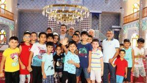 Başkan Baydilli, Kur'an Kursu öğrencileriyle buluştu