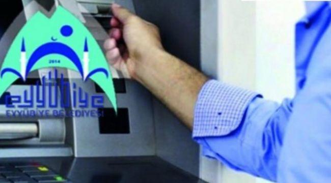 Eyyübiye Belediyesi, Bankamatik Memurlarını Temizlemeye Devam Ediyor