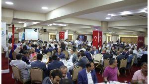 Haliliye Belediyesi yerel yönetimler toplantısına ev sahipliği yaptı