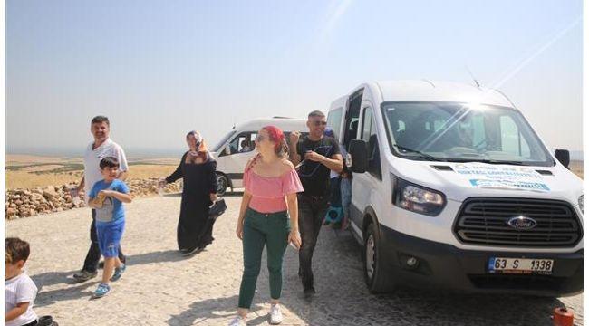 Haliliye Belediyesinden Göbeklitepe'ye araç desteği