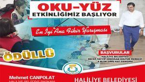 Haliliye Belediyesinden ödüllü kitap yarışması