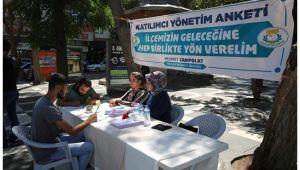 Haliliye'nin geleceğini vatandaşlar şekillendiriyor!