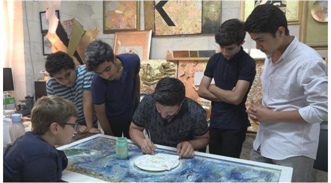 Sanat Sokağı'ndaki kurslara yoğun ilgi