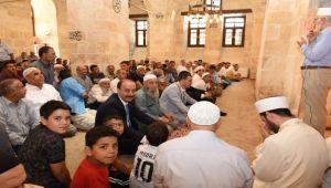 Tarihi Pazar Camii İbadete Açıldı
