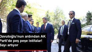 AK Parti'de istifalar: Eski milletvekilleri ve il başkanları da partiden ayrıldı