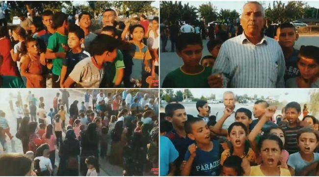 Akpınar Mahallesi sakinleri milli eğitimi göreve davet ediyor