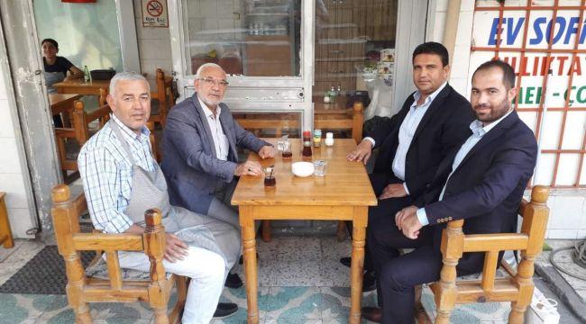 Başkan Ağan,Siyaseti Koltukta Oturarak değil,Sahada Yapıyor
