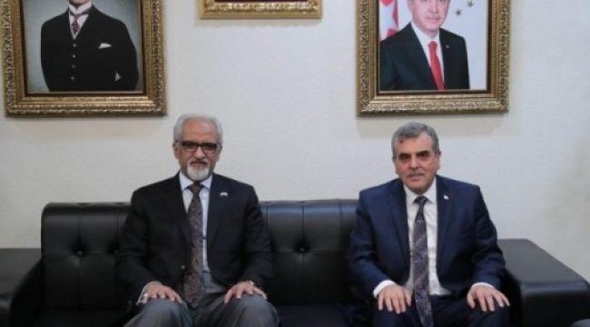 Başkan Beyazgül, Kuveyt Büyükelçisi ile görüştü