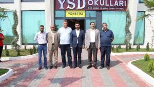 Başkan Canpolat'tan YSD'ye ziyaret