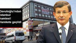 Davutoğlu'nun İstanbul'daki yeni parti binasının adresi belli oldu