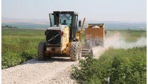 Haliliye Belediye ekipleri kırsaldan çıkmıyor