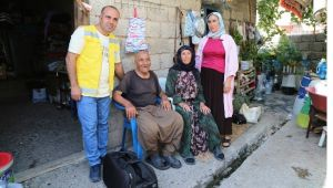 Haliliye'de Kapıya Gelen Hizmet Sürüyor