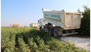Haliliye kırsalı çamursuz yollara kavuşuyor