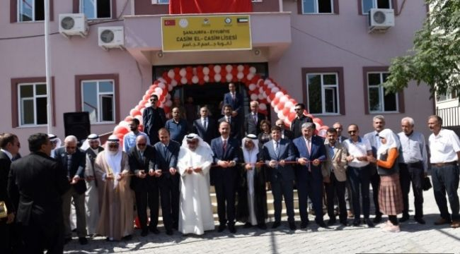 Kuveytli iş adamları Eyyübiye'de Lise açtı