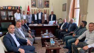Meclis Üyelerinden Özcan'a ziyaret