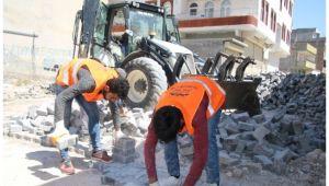 Şanlıurfa Büyükşehir'den Viranşehir alt yapısı için yoğun mesai