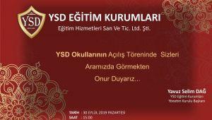 YSD'de açılış yarın