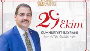 Başkan Canpolat, Cumhuriyet Bayramını kutladı