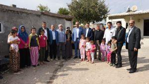 Bayık, terör mağduru aileleri ziyaret etti