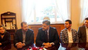 Büyükelçi Önen'den İpek Yolu Fonuna ziyaret