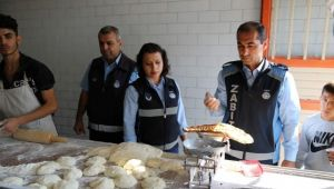 Haliliye'de fırınlarda denetimler sürüyor