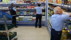 Haliliye'de Zabıta Ekipleri marketlerini denetledi