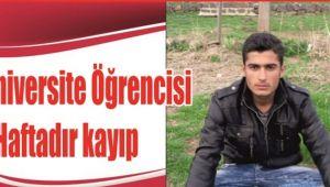 Harran Üniversitesi Öğrencisi 1 Haftadır Kayıp!