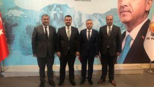 Urfa'da 3 İlçe Başkanı asaleten atandı