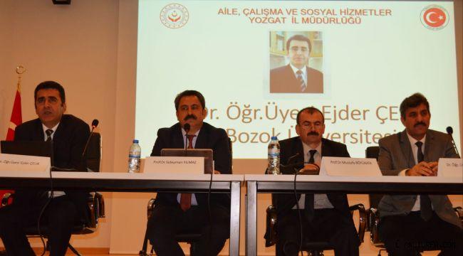 Yozgat'ta Dezavantajlı Gruplar Konuşuldu