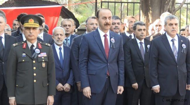 Atatürk Şanlıurfa'da anıldı