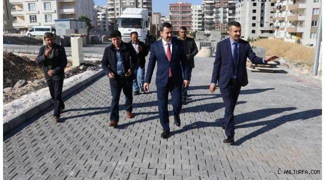 Başkan Baydilli: ''Karaköprü'de bozuk yol bırakmamak için uğraşıyoruz''