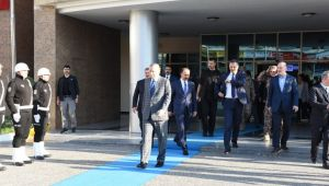 Cumhurbaşkanı Erdoğan Şanlıurfa Valiliğini Ziyaret Etti