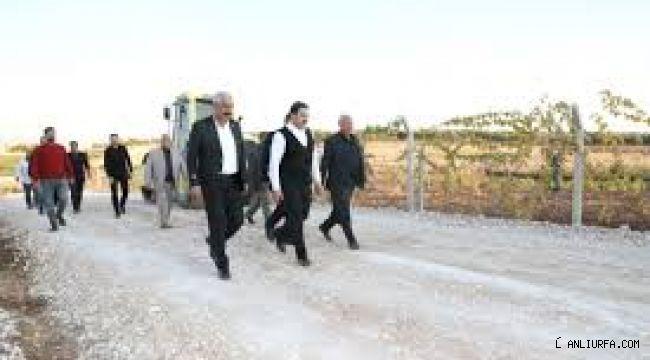 Haliliye Kırsalı, Başkan Canpolat ile kalkınıyor