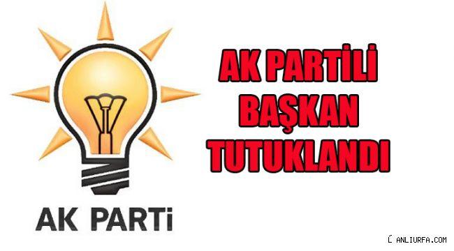 AK Partili Başkan Tutuklandı