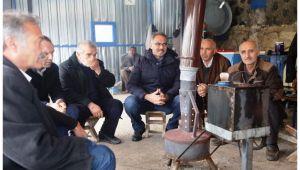 Başkan Kuş Haleplibahçe Esnafı ile bir araya geldi
