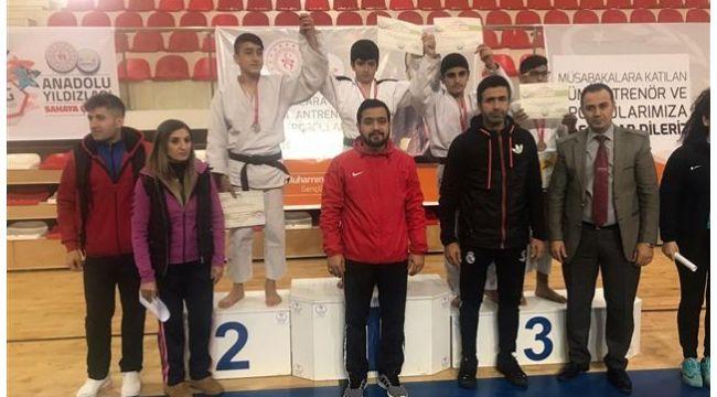 Urfalı Judocular Takım Halinde Şampiyon Oldu