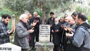 Büyük usta Güzelgöz mezarı başında anıldı