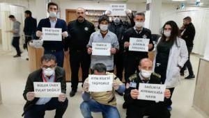 Sağlık İşçilerinden Büyük Tepki