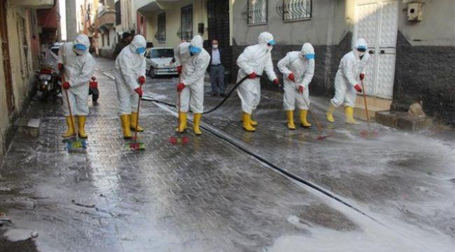 Eyyübiye'de koronavirüs mücadelesi sürüyor