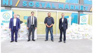 Haliliye Belediyesinden esnafa gıda desteği