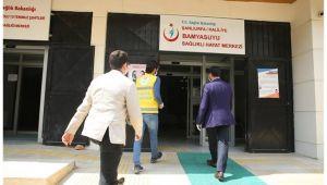 Haliliye'de sağlık merkezlerine maske dağıtıldı