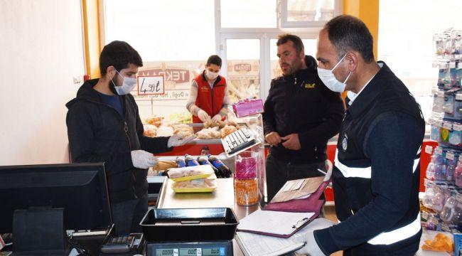 Hilvan Belediyesi Esnafa Maske Dağıttı