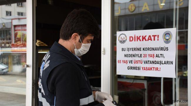 Hilvan'da, işyerlerine girişlerde yaş kısıtlaması
