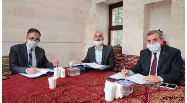 Şanlıurfa Büyükşehir'de toplu sözleşmeye imzalar atıldı