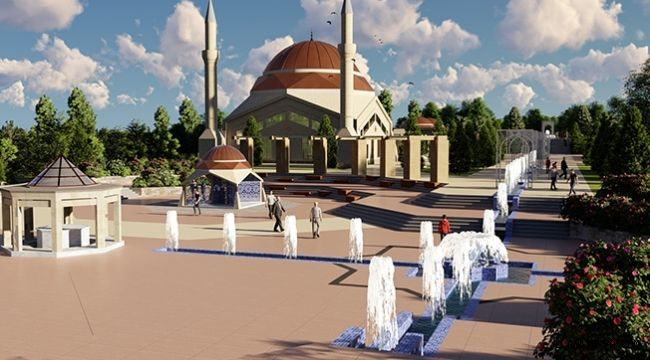 Şanlıurfa Büyükşehir'den Hz. Eyyüp Makamına Yakışır Proje