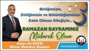 Başkan Bayık Ramazan Bayramını kutladı