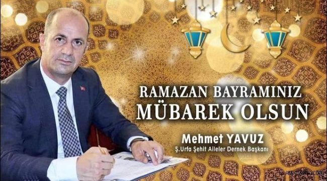 Başkan Yavuz'dan Ramazan Bayramı mesajı